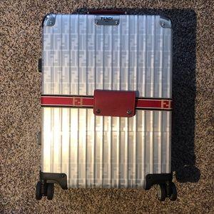 FENDI RIMOWA Aluminum Carry On Luggage